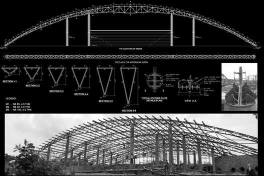 Truss Structure Diagram