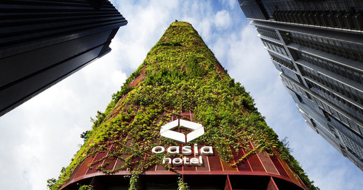 Oasia Downtown Hotel. Image © Patrick Bingham-Hall