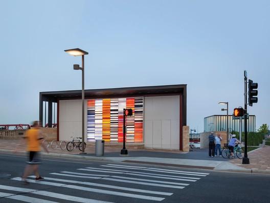 Principal Riverwalk Pump Station / substance architecture. Image © Paul Crosby