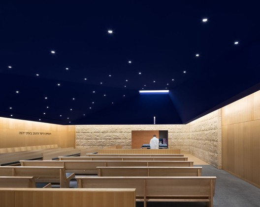 Chapel at Congregation Kehilath Jeshurun / FXCollaborative. Image © Chris Cooper