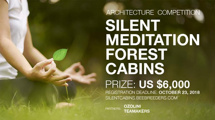 Convocatoria 'Silent Meditation Forest Cabins'