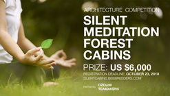 Convocatoria 'Silent Meditation Forest Cabins'
