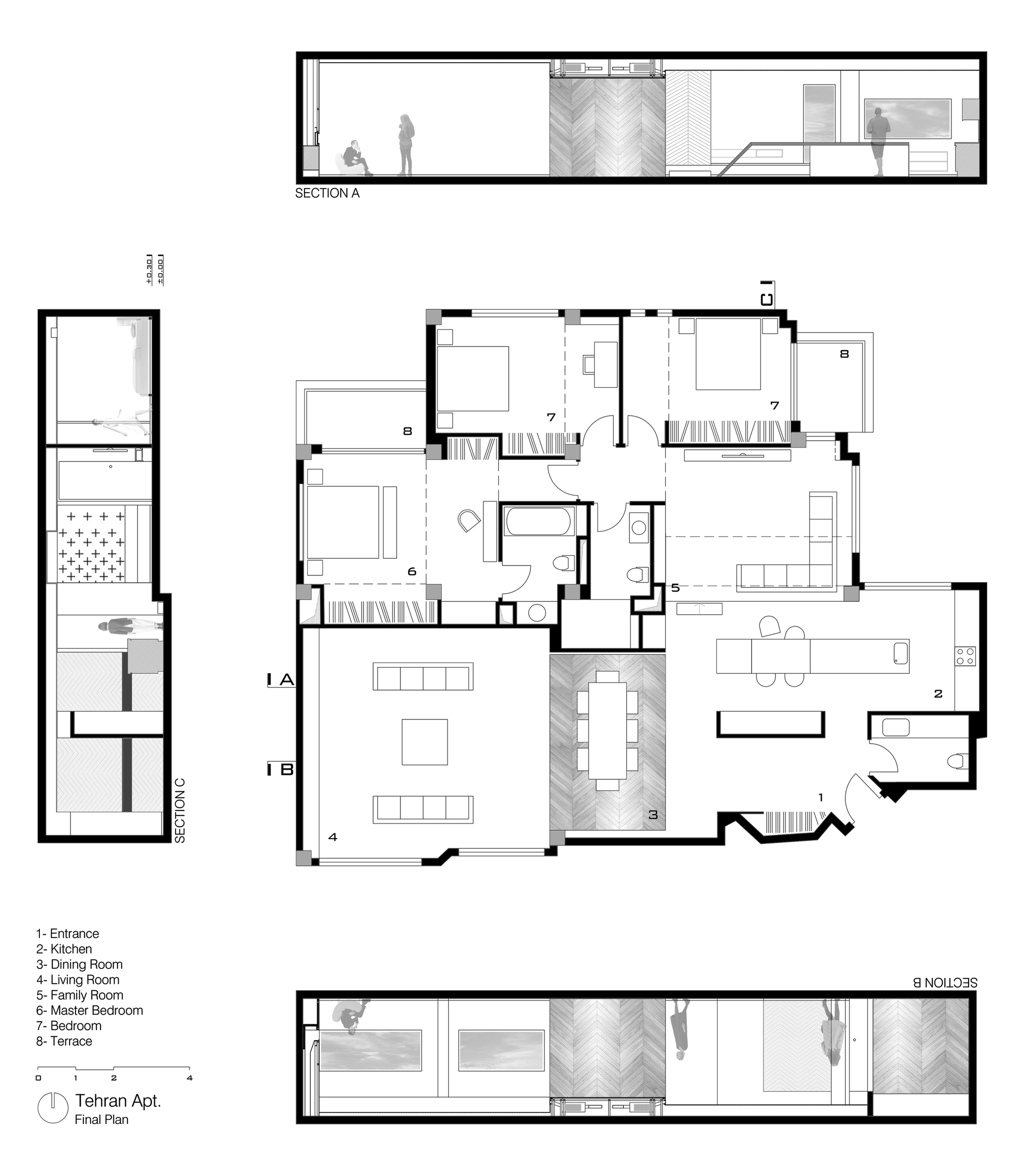 Gallery Of Tehran Apartment Rooydaad Architects 26