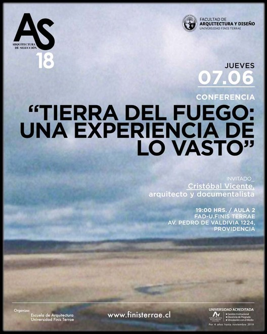 """Conferencia """"Tierra del Fuego: una experiencia de lo vasto"""""""