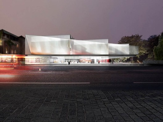Diller Scofidio + Renfro and Woods Bagot Win Star-Studded Competition for Adelaide Contemporary Art Museum