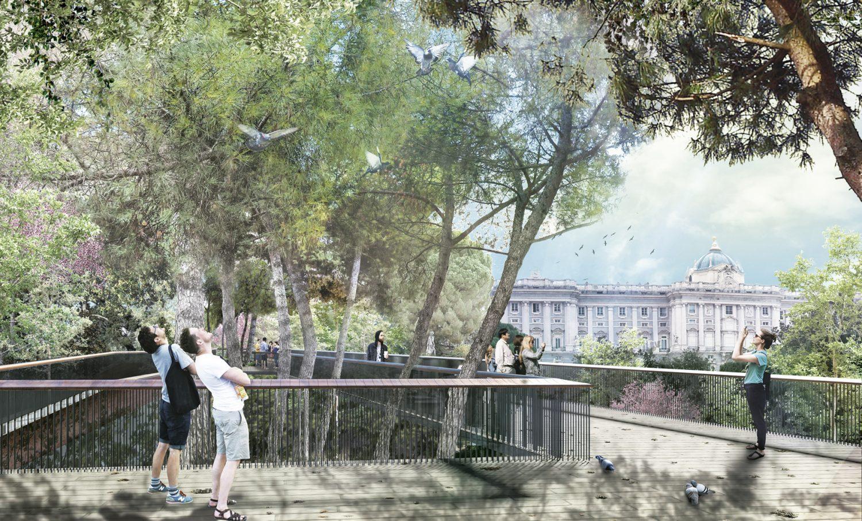Galería De Transformación De La Plaza España En Madrid