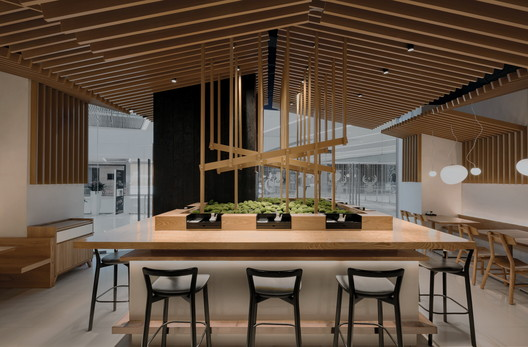 Ramen Musashi / Golucci Interior Architects
