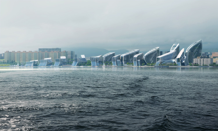 Zaha Hadid Architects Wins Competition for Russian Black Sea City Masterplan, Courtesy of VA