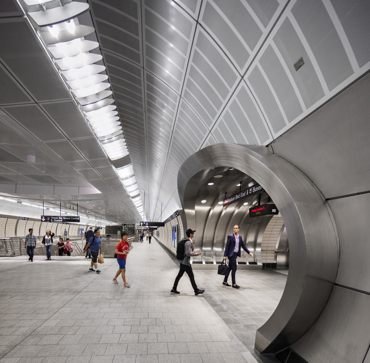 Number 7 Subway Line Extension & 34 Street Hudson Yards Station / Dattner Architects, © David Sundberg