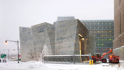 Manhattan Districts 1/2/5 Garage & spring street Salt Shed / Dattner Architects