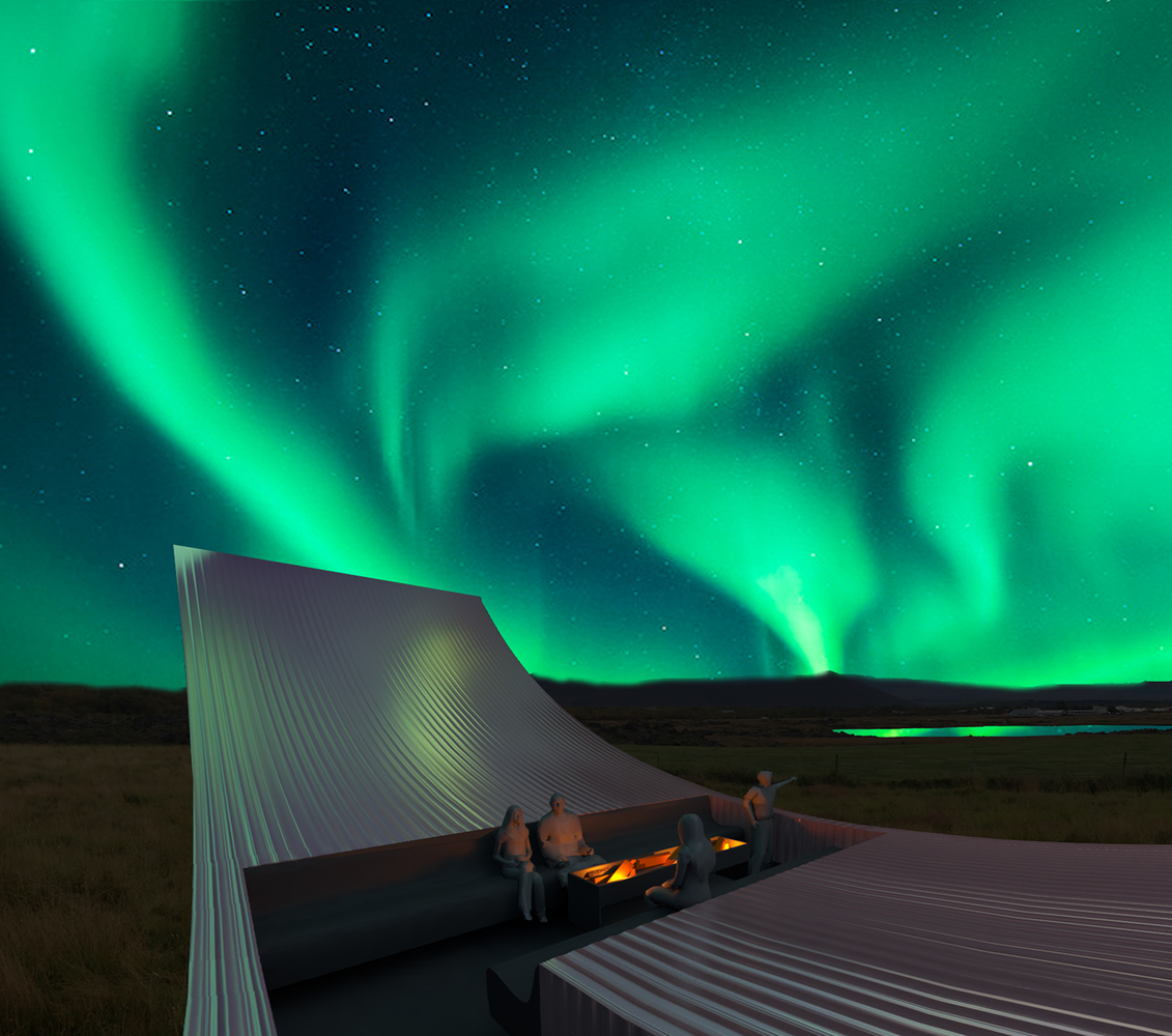 Bee Breeders Announce Winners Of The Iceland Northern Lights Rooms  Competition,Courtesy Of Bee Breeders
