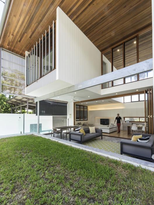 Backyard House / Joe Adsett Architects. Image Courtesy of Joe Adsett Architects
