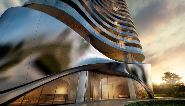 This Cave-Like Luxury Apartment is Planned for Australia's Gold Coast , Courtesy of Contreras Earl Architecture