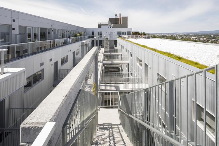 Tandem Condos Sur Cour / Fugère architecture, © Jonathan Robert