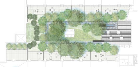 Plan Courtyard