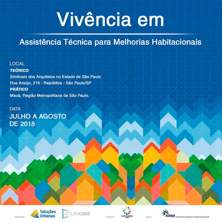 """Curso """"Vivência em Assistência Técnica para melhorias habitacionais"""""""
