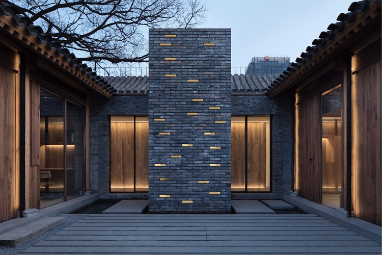 White Pagoda Temple Hutong Courtyard Renovation / B.L.U.E. Architecture Studio, © Zhi Xia