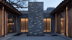 White Pagoda Temple Hutong Courtyard Renovation / B.L.U.E. Architecture Studio