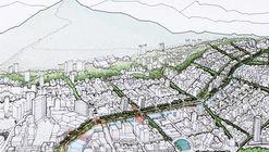 Colectivo 720 + De Arquitectura y Paisaje, segundo lugar en concurso de espacio público en la avenida Sexta de Cali, Colombia