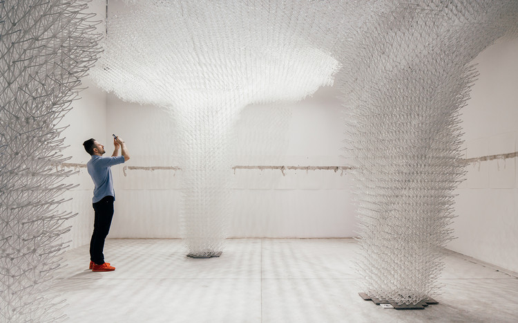 Cloud Pergola: The Croatian Pavilion at the 2018 Venice Biennale, © Jan Stojkovic