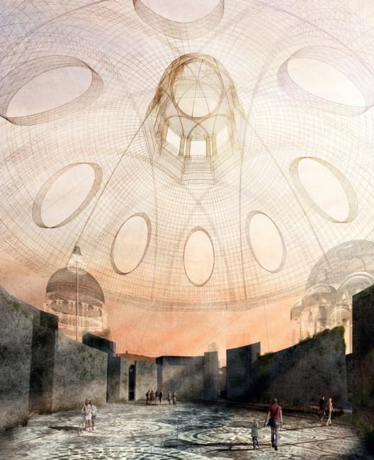 Exorcity, el tratado de la nueva arquitectura millennial, Adriana Agüelos. Laberinto. Cúpula. Image Cortesía de Manuel Ocaña