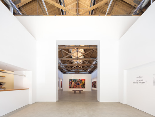 Richard Gray Gallery Warehouse / Wheeler Kearns Architects