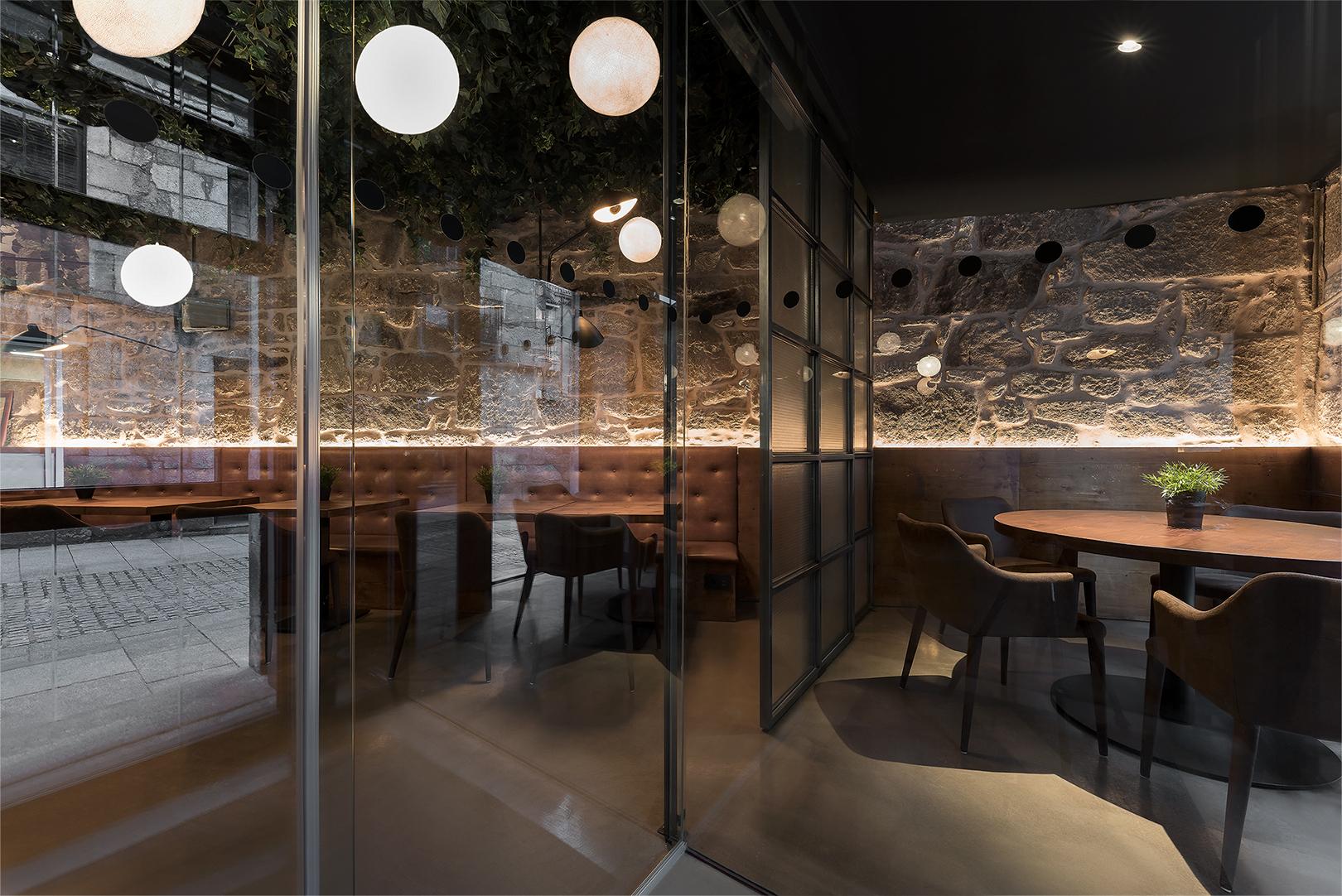 Galer A De Restaurante Taberna Do Trasno Nan Arquitectos 3