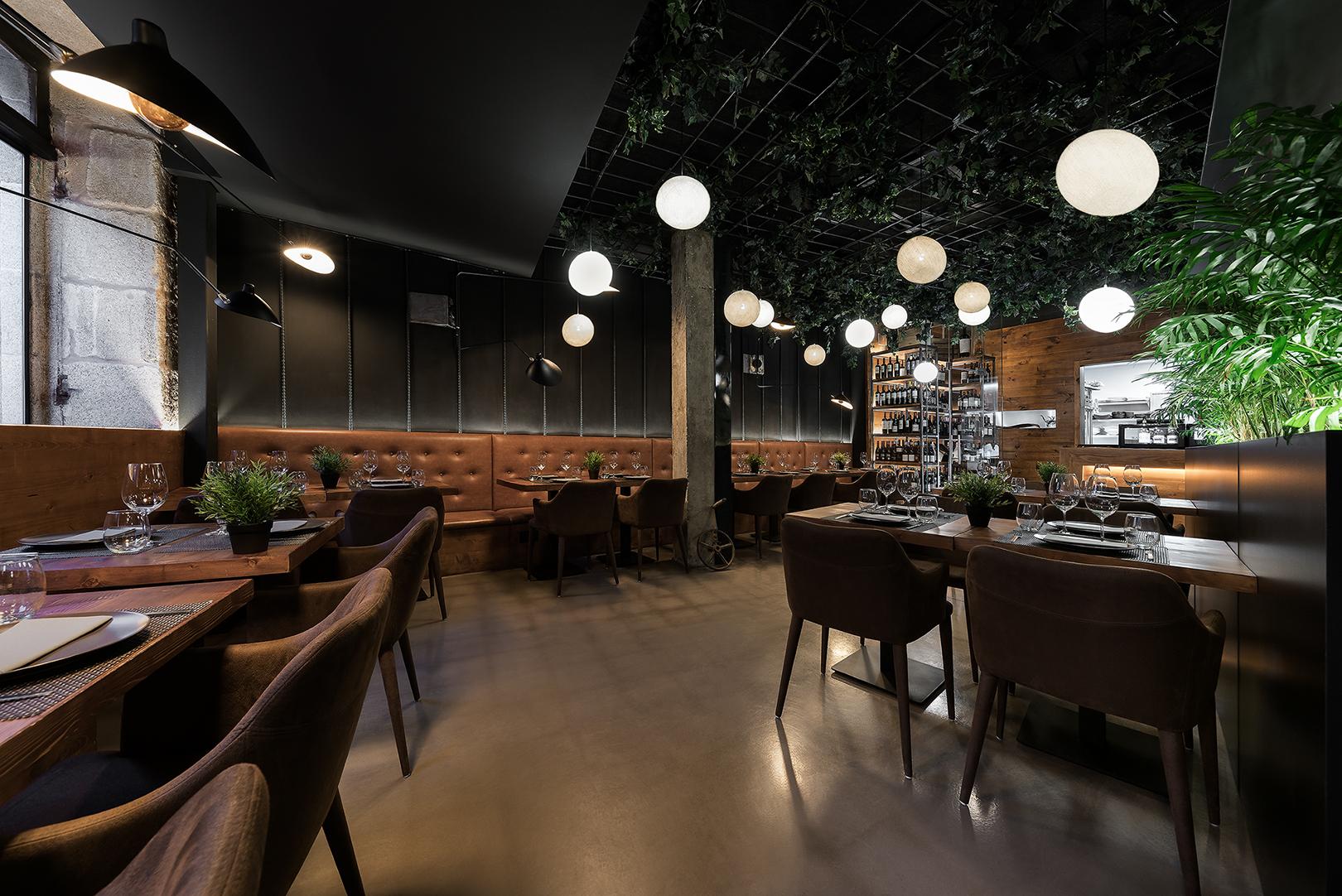 Galer A De Restaurante Taberna Do Trasno Nan Arquitectos 1