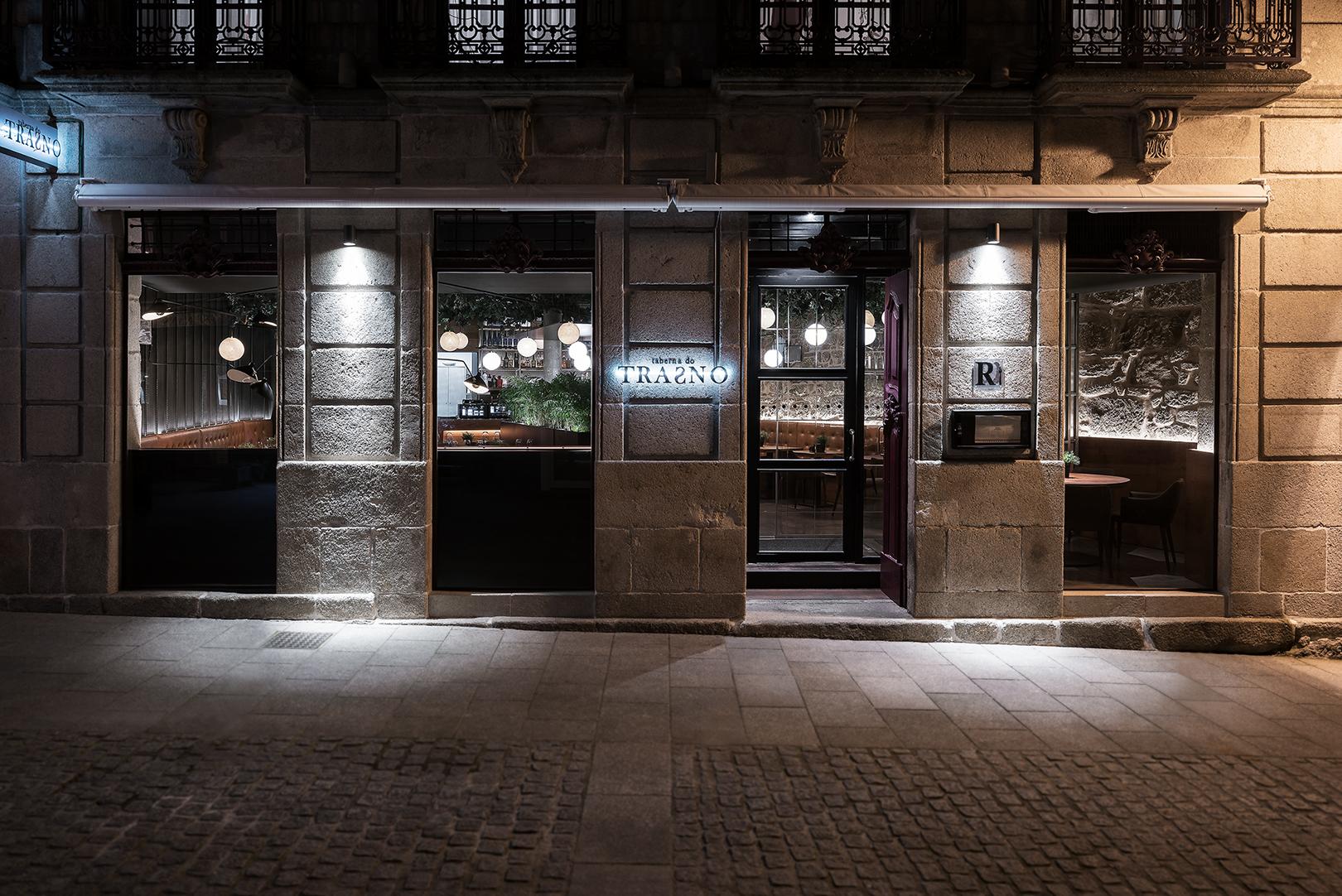 Galer A De Restaurante Taberna Do Trasno Nan Arquitectos 5