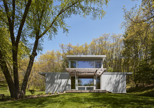 Upper Jeptha Lake Retreat / Wheeler Kearns Architects