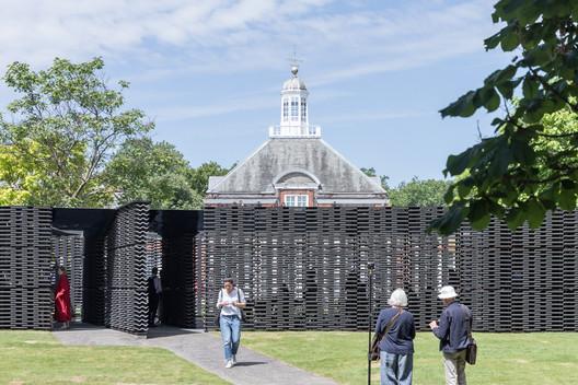 Frida Escobedo's 2018 Serpentine Pavilion Opens in London