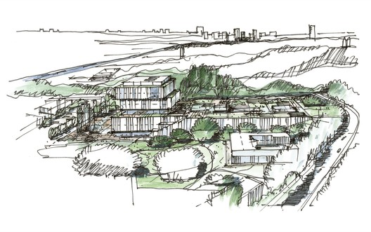 Conceptual sketch. Image Courtesy of Schmidt Hammer Lassen