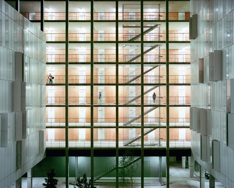 Résidence Universitaire Olympe de Gouges / ppa architectures, © Antoine Séguin