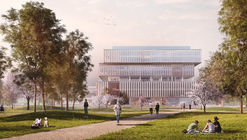 Schmidt Hammer Lassen Design Zero-Carbon Headquarters for Global Chemical Company in Brussels