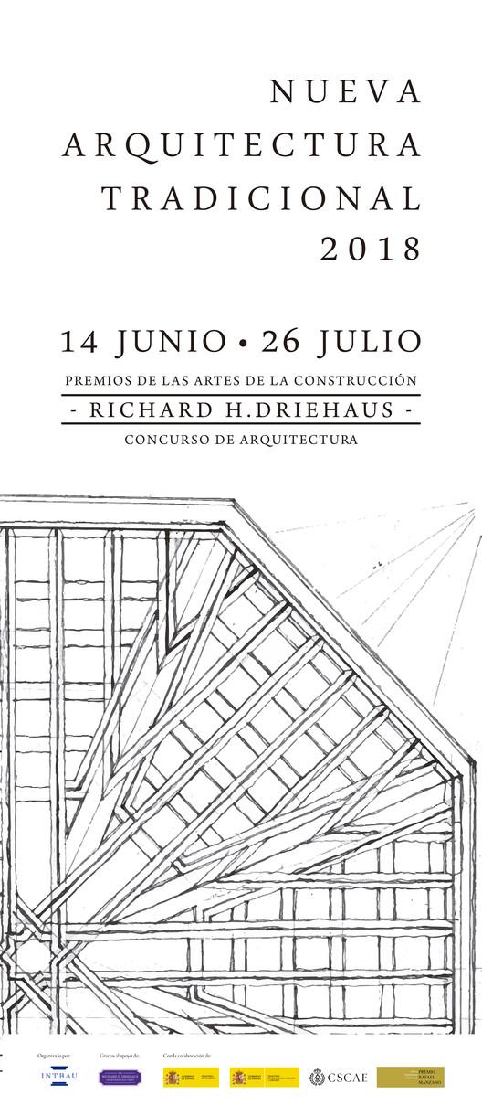 Exposición 'Nueva Arquitectura Tradicional 2018', Cartel de la Exposición Nueva Arquitectura Tradicional 2018