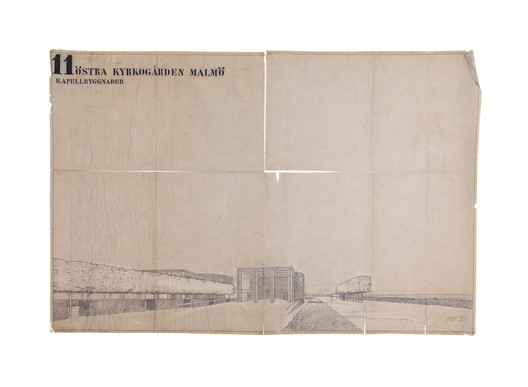 Courtesy of Sigurd Lewerentz Collection, ArkDes