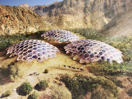 """Biodomes"" in the UAE's Al Hajar Mountains Will Promote Ecotourism"