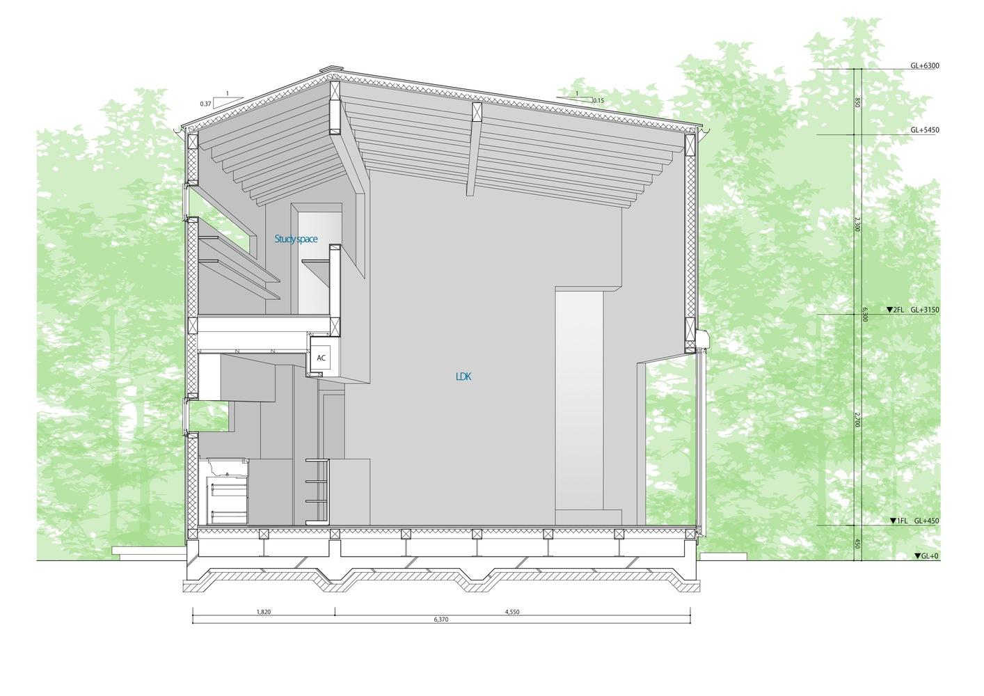 Gallery of House in Takatori / Tatsunori Kakuno/ tatta architects - 15