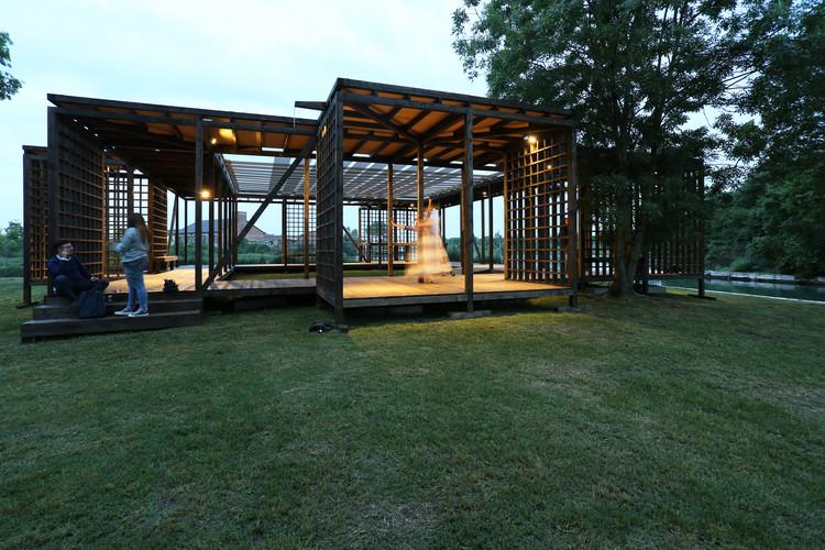 Corte del Forte Dance Pavilion / Rintala Eggertsson Architects, Courtesy of Rintala Eggertsson Architects