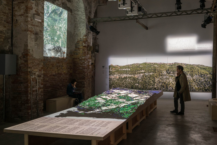 """The Place That Remains"":The Lebanese Pavilion at the 2018 Venice Biennale, © venicedocumentationproject"