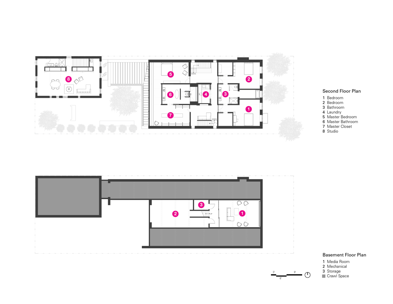 Wheeler Media Diagram Room Wiring Gallery Of Wicker Park Residence Kearns Architects 27 Rh Archdaily Com Chinese 4 Geology