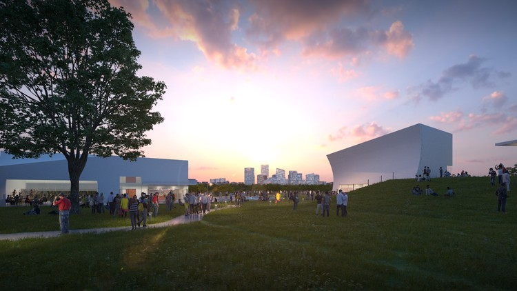 New Images Show Steven Holl's Expansion of the Kennedy Center Under Construction, Courtesy of Steven Holl Architects