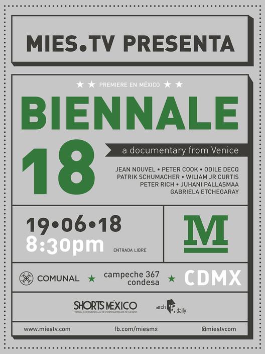Mies TV presenta: Biennale 18 un documental sobre Venecia, Equipo Mies. MX