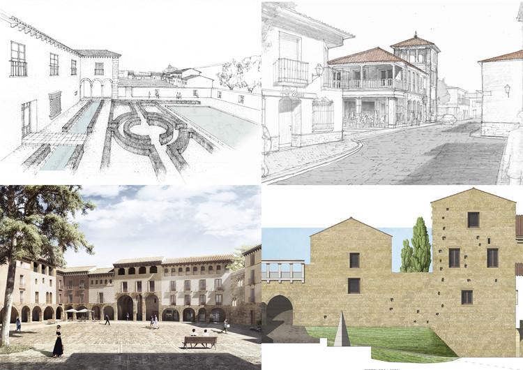 Driehaus 2018: estos proyectos recuperarán la arquitectura tradicional de varios municipios españoles, Ganadores Concurso Driehaus. Image Cortesía de Concurso Richard H. Driehaus