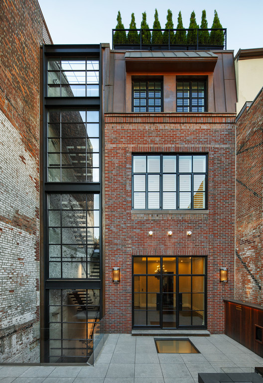 Chestnut Street Townhouse / Hacin + Associates, © Bob O'Connor Photography