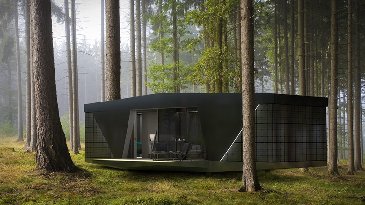 Nature Lovers Can Live Off-The-Grid With This Portable, Self-Powered Pod, Courtesy of IO House