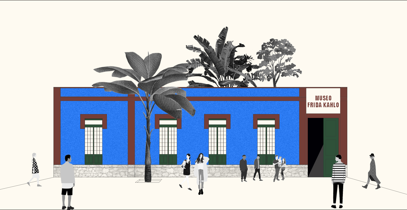 The Chemistry Of Kahlo Blue Archdaily