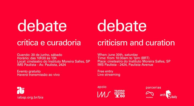"""IABsp promove o debate """"Crítica e Curadoria"""""""