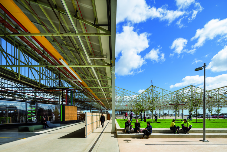 Tonsley Main Assembly Building and Pods / Woods Bagot, © Sam Noonan