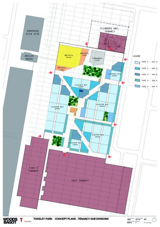 Concept plans - Tenancy sub divisions